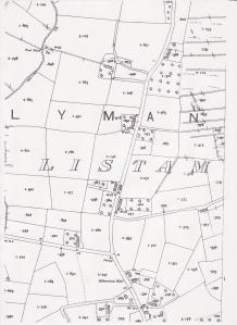 Listamlet 1935 ordnance survey 001