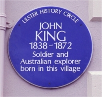 king plaque
