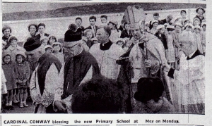 cardinal conway blesses school 001