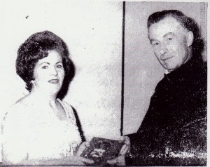 Eileen Donaghy and father Moore 2.1.65 001 001