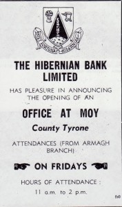 HIBERNIAN BANK 1963 001