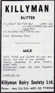 KILLYMAN BUTTER 1963 001