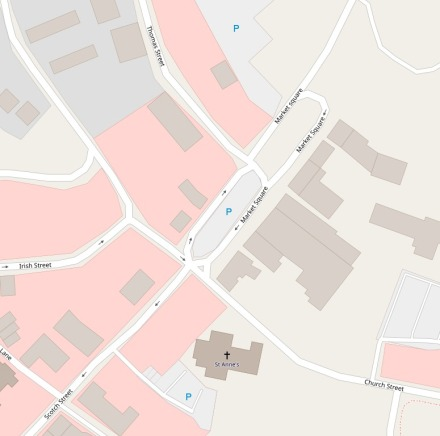dungannonOpenStreetMap